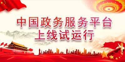 中国政务服务平台
