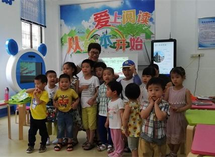 连江县图书馆举办父亲节亲子绘本故事会