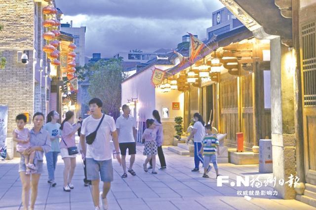 连江魁龙坊美食文化节热闹举行